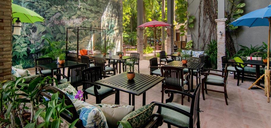 Garden Pavilion Snacks Cocktails Siam Bayshore Resort Pattaya